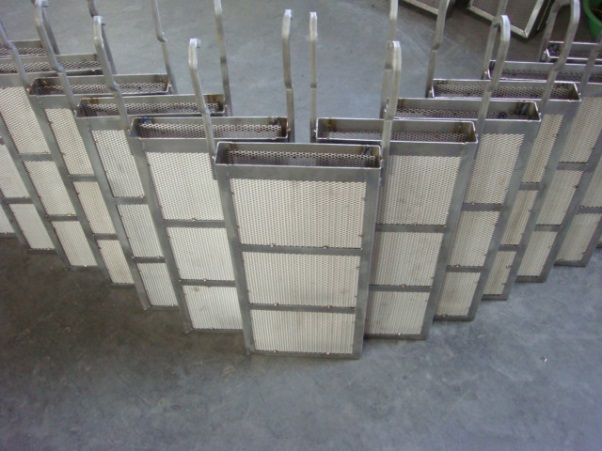 Titanium Basket and MMO Mesh Anode