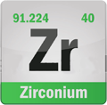 Zirconium - Zr