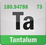 Tantalum Ta